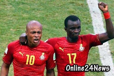 Футболисты сборной Ганы требуют деньги вперёд