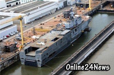 Российские военные моряки едут осваивать французский