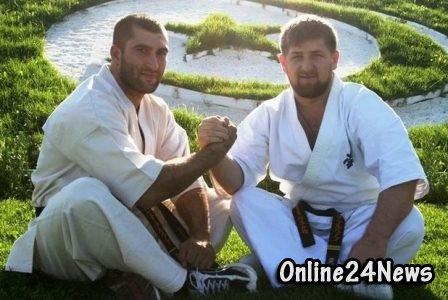 Кадыров и его тренер Лечи Курбанов