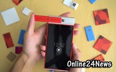 Показанный в сети прототип модульного телефона носит рабочее название Spiral 1