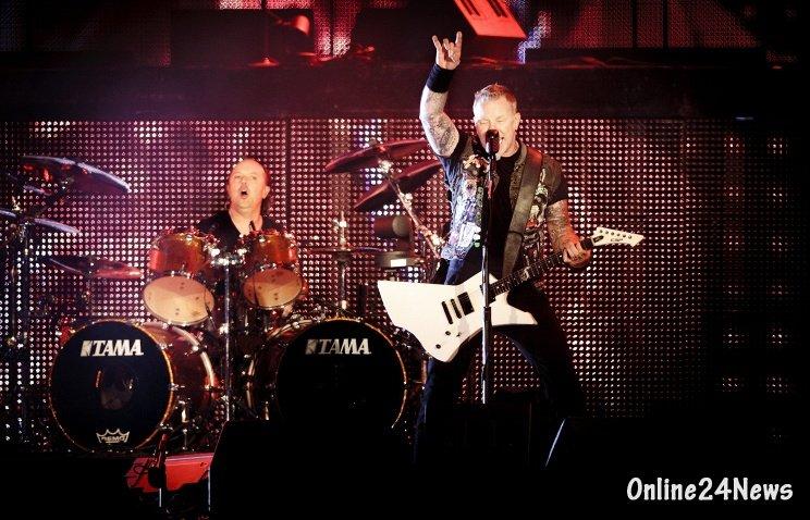 Группа Metallica выступит на сцене Петербурга