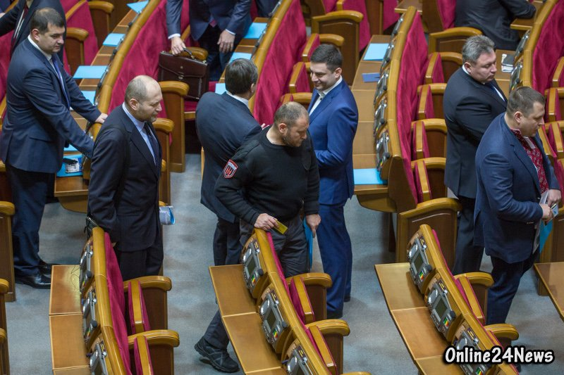 Дмитрий Ярош в парламенте