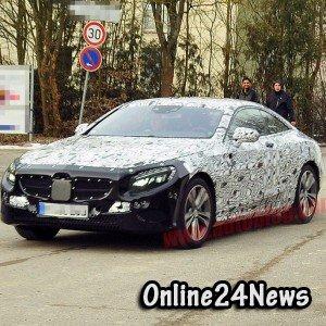 Шпионское фото Mercedes-Benz C-Class Coupe