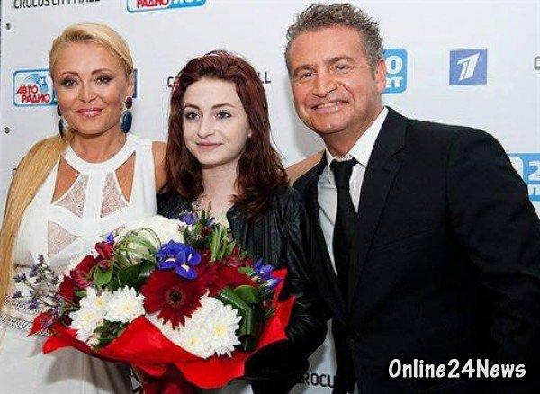 Анжелика Варум, леонид Агутин и Лиза