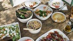 Пять тысяч добровольцев, которые в своём питании придерживались так называемой средиземноморской диеты изобилующей свежими овощами и фруктами, виноградным вином и оливковым маслом