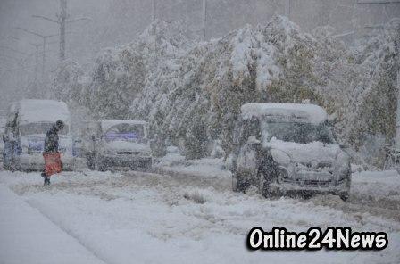 снегопад в Турции