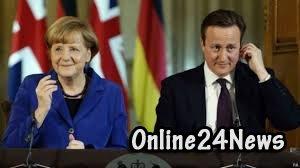 Кэмерон и Меркель
