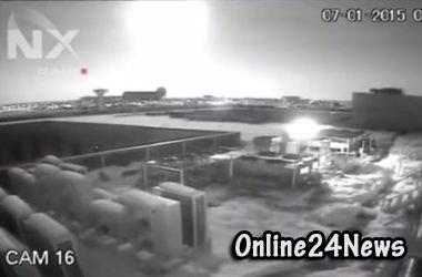 над Бухарестом взорвалась камета