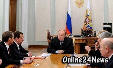 совещание при Путине