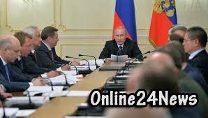 Путин на заседании