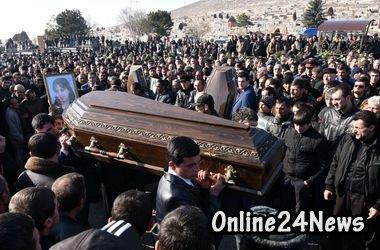 похороны армянской семьи
