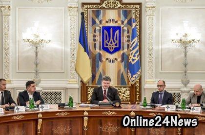 совещание СНБО УКраины