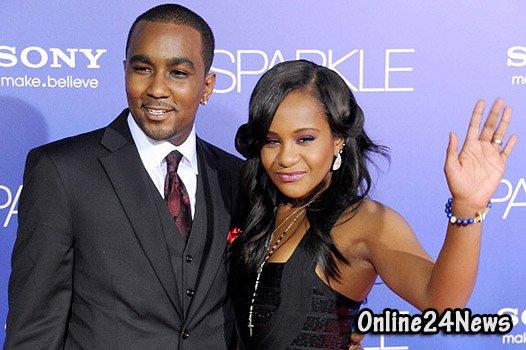 Бобби Кристину Браун с мужем