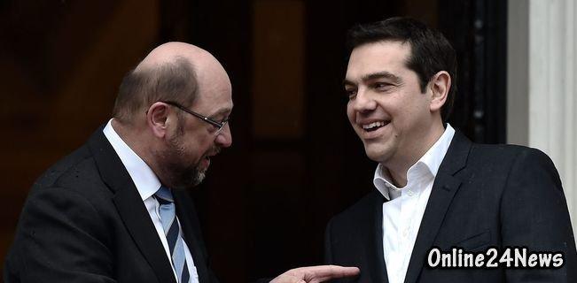 лидеры Греции и России