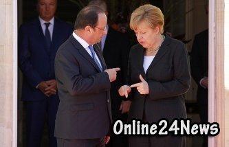 Меркель Олланд