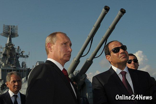 визит Путина в Египет