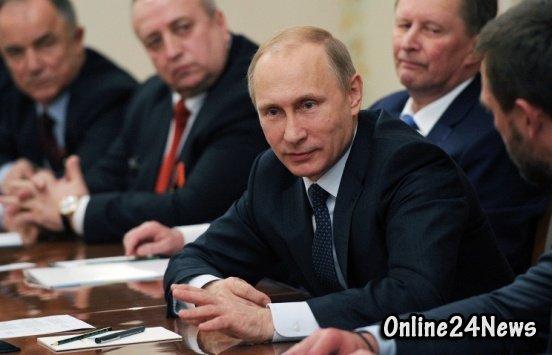 Путин за заседании ветеранов