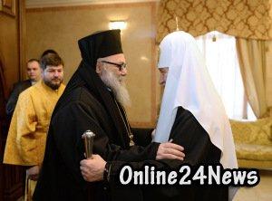 патриарх Кирилл и патриарх Иоанн Х