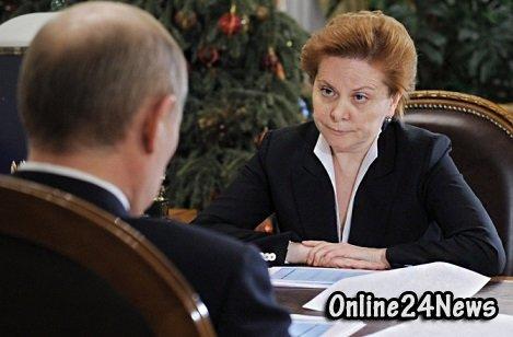 Путин и Комарова