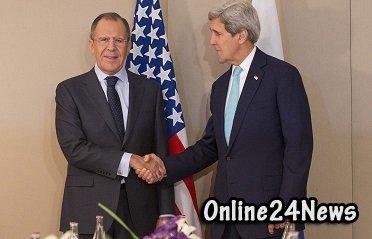 Встреча Джона Керри и Сергея Лаврова