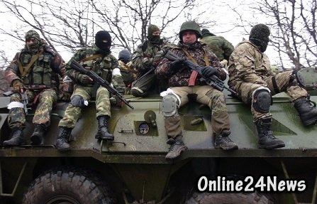 ополченцы в Донбассе