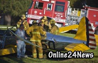 Форд попал в авиакатастрофу