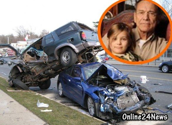 семья Андрея Кончаловского попала в аварию