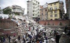 землетрясение в Непале