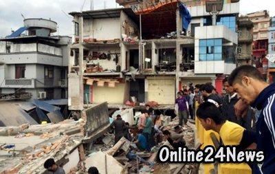гуманитарная помощь Непалу