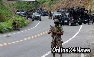 вооруженное столкновение в мексике