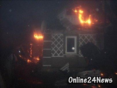 пожар в Тульской области
