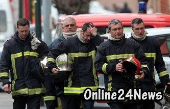 Пожар на нефтехимическом заводе во Франции