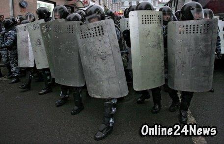 МВД закупает для сотрудников пробную партию защитных щитов