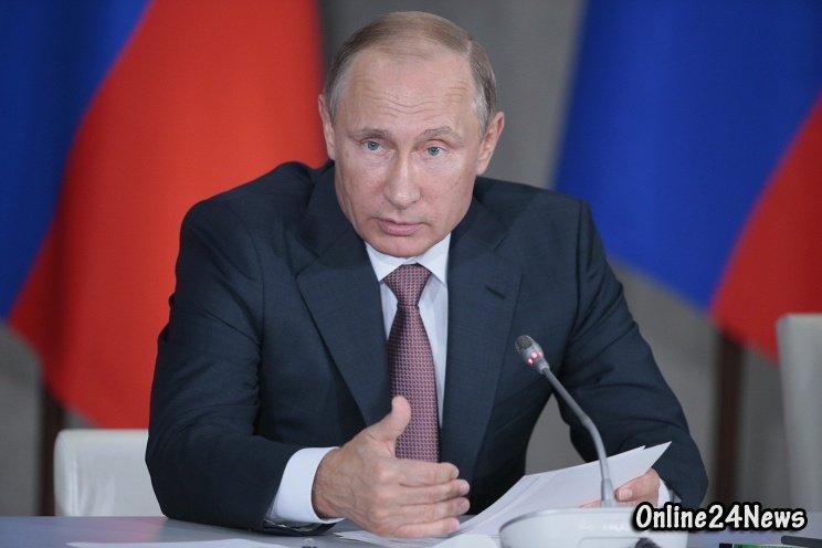 Владимир Путин во время заседания президиума Государственного совета, посвященного развитию туризма в РФ