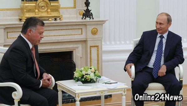 Владимир Путин и Абдалла II