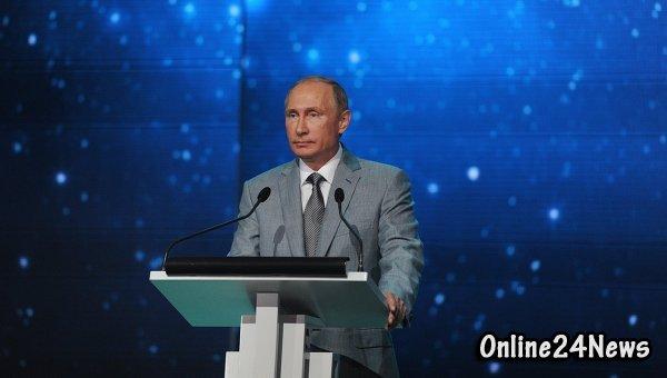 Владимир Путин в центре для одаренных детей