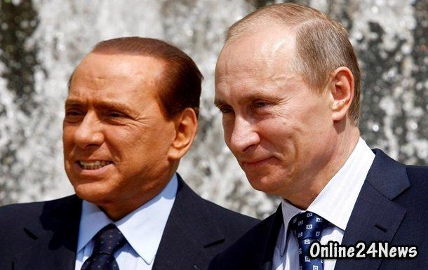 Берлускони и Путин