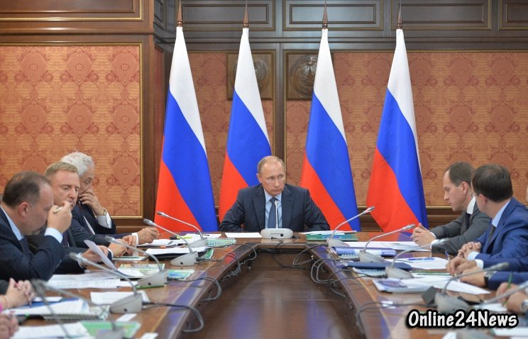 Путин в Ингушетии