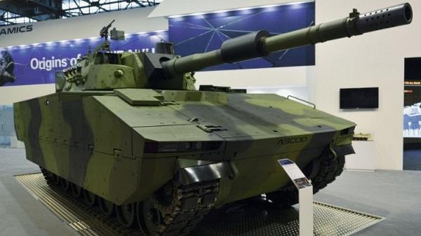 Новый средний боевой танк MMBT представили вевропейских странах