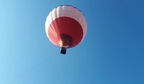 Подмосковье. Блогеры и граждане поддержали промо-акцию с воздушным шаром