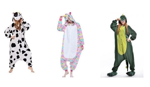 Японские пижамы «Кигуруми» для взрослых и детей
