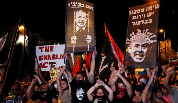 Израиль: сотни людей вышли на митинг против Нетаньяху