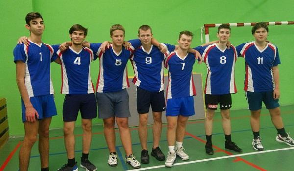Молодое поколение волейболистов