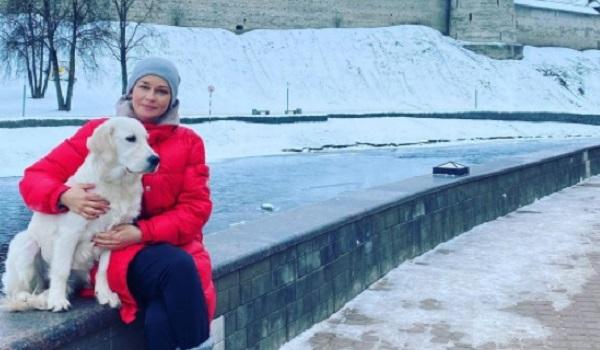 В жизни Юлии Пересильд появился новый член семьи - собака!